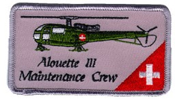 Bild von Alouette III Maintenance Crew Patch